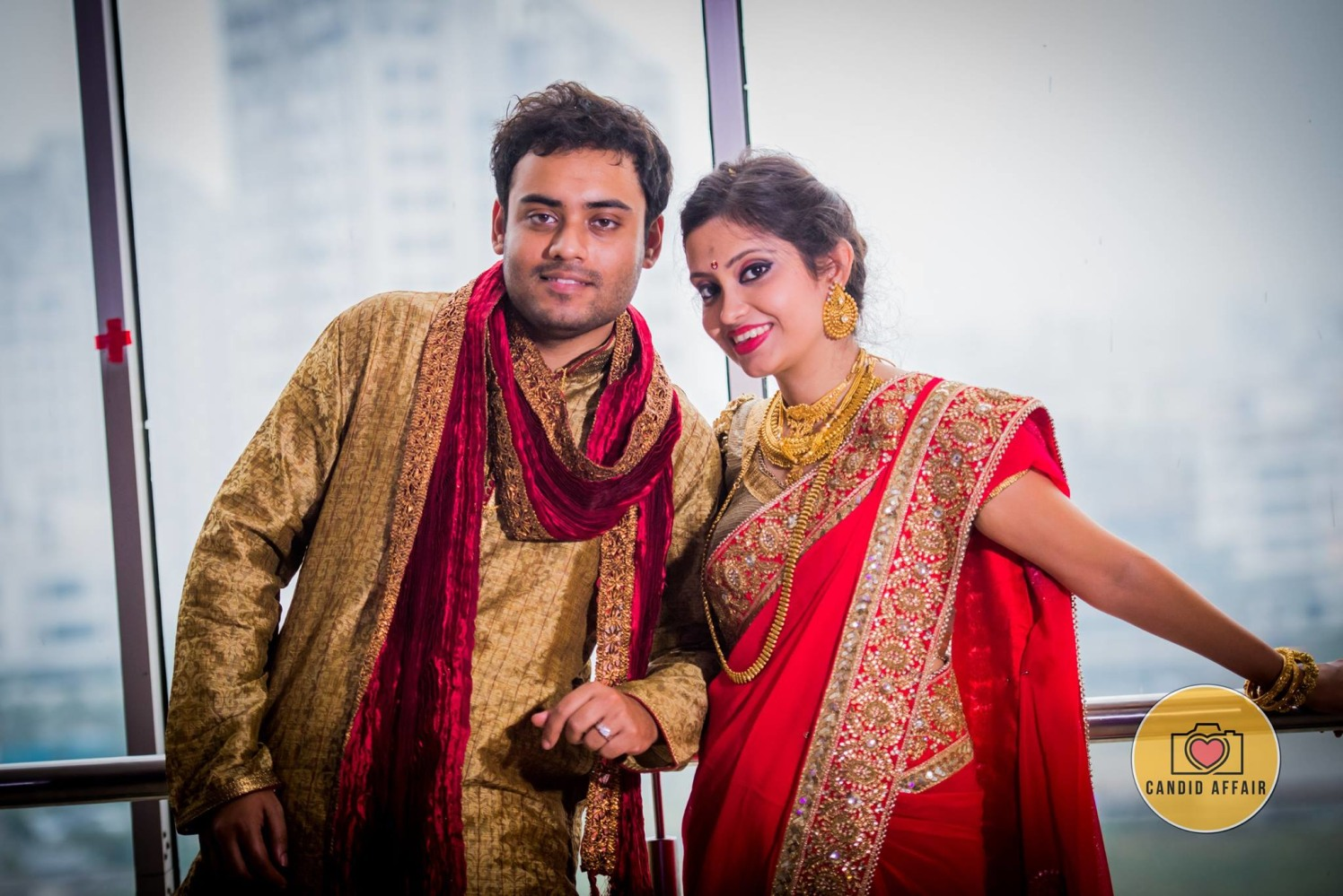 Bride And Groom In Matching Attires by Candid Affair Wedding-photography | Weddings Photos & Ideas