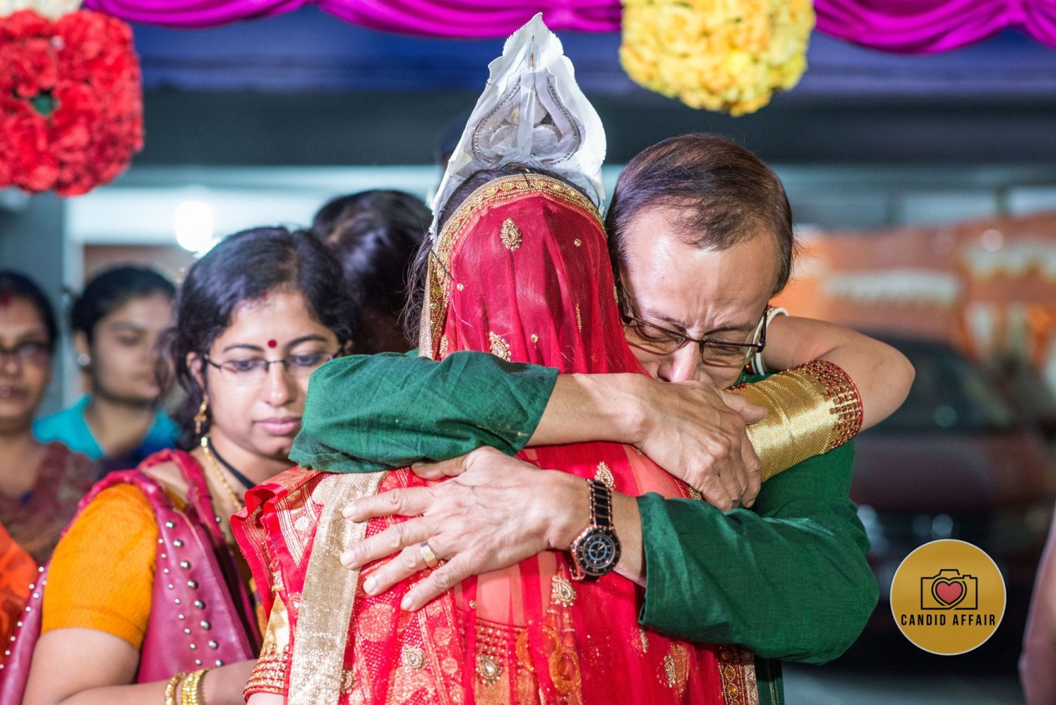 Bride's Farewell Shot by Candid Affair Wedding-photography | Weddings Photos & Ideas