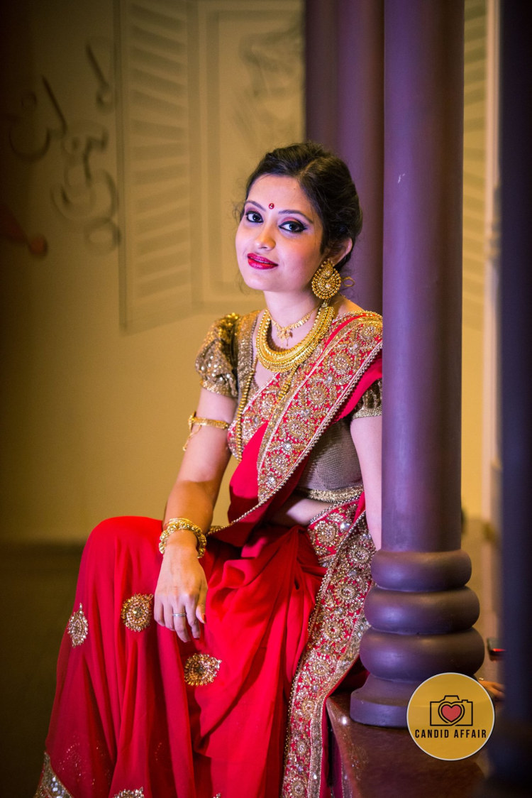 Bride In Red by Candid Affair Wedding-photography | Weddings Photos & Ideas
