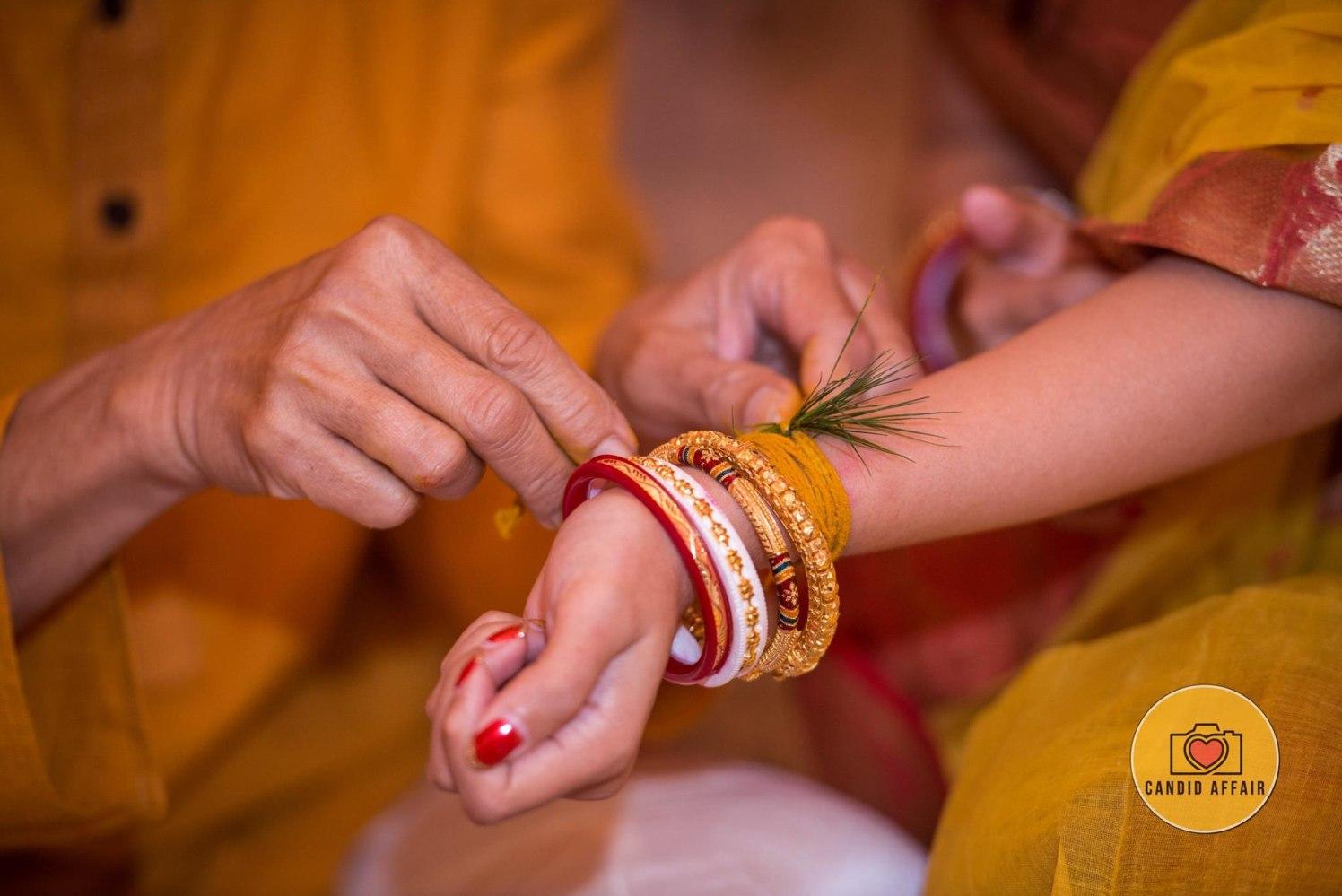 Haldi Ceremony by Candid Affair Wedding-photography | Weddings Photos & Ideas