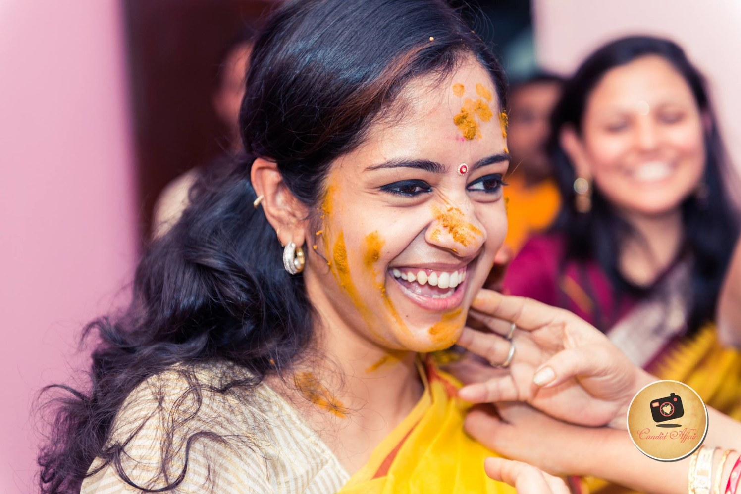 The beaming face by Candid Affair Wedding-photography | Weddings Photos & Ideas