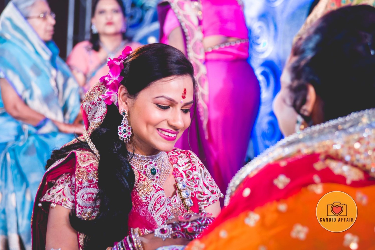Captivating Smile Of Bride by Candid Affair Wedding-photography Bridal-jewellery-and-accessories | Weddings Photos & Ideas