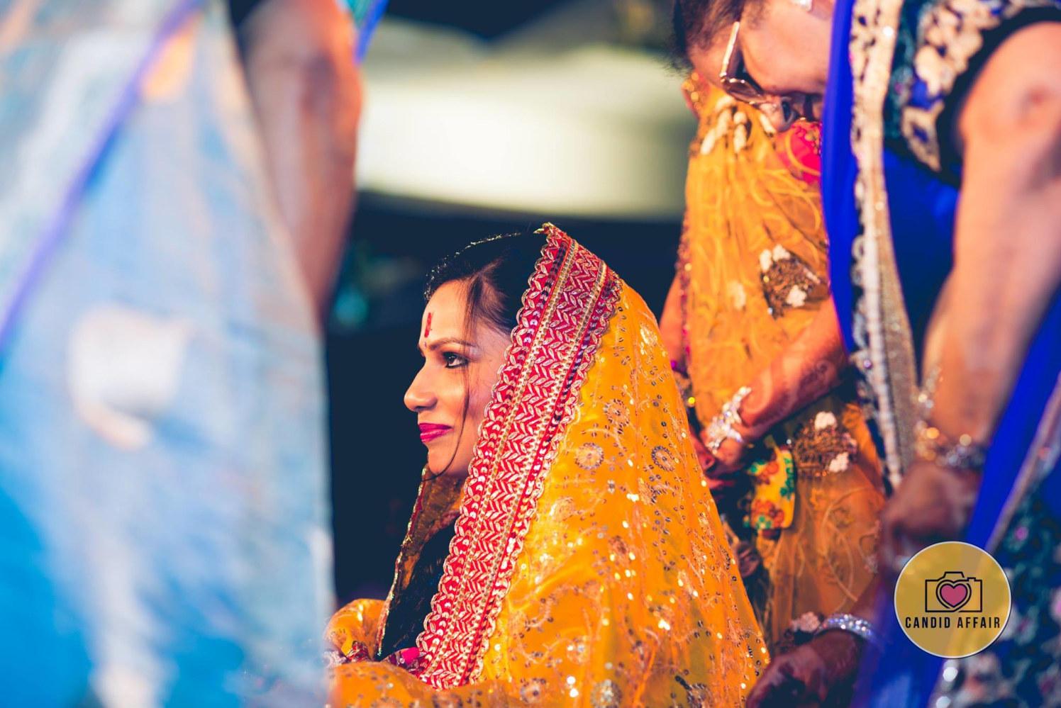 Bride's Shagan Shot by Candid Affair Wedding-photography | Weddings Photos & Ideas
