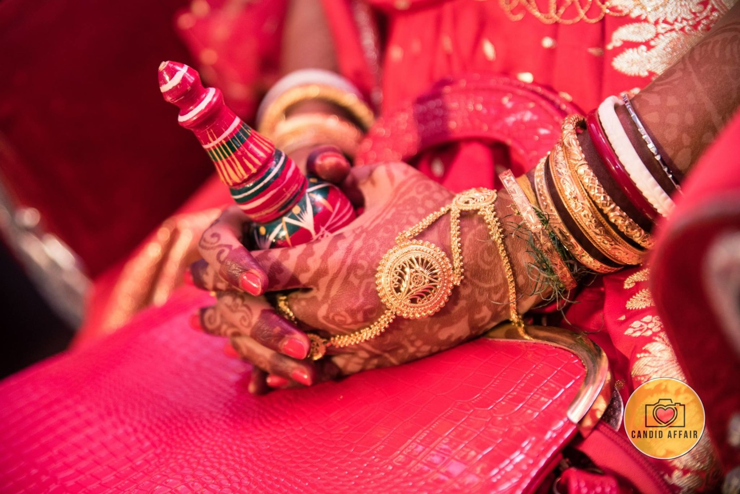 Gold Hand Accessories by Candid Affair Bridal-jewellery-and-accessories | Weddings Photos & Ideas
