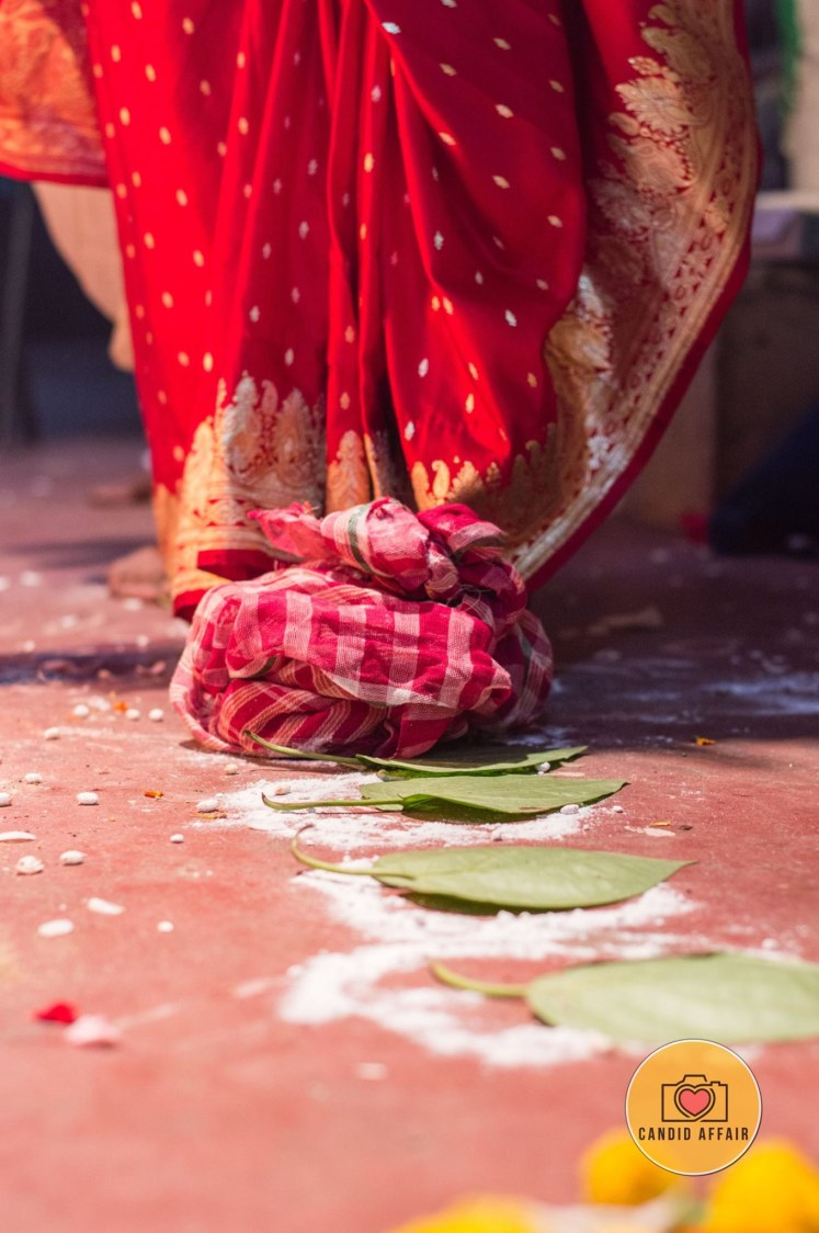 Bride Doing Wedding Day Traditions by Candid Affair Wedding-photography | Weddings Photos & Ideas