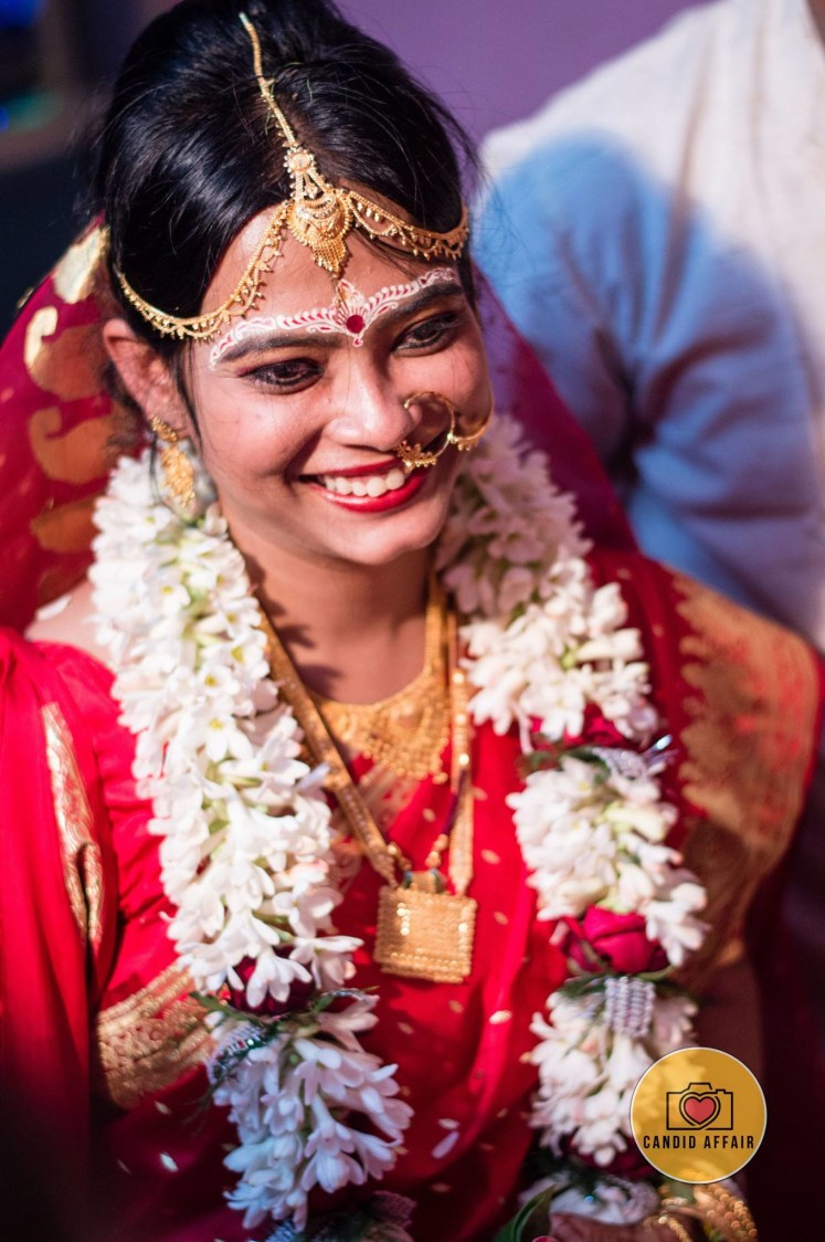 Bridal Smiling Shot by Candid Affair Wedding-photography | Weddings Photos & Ideas