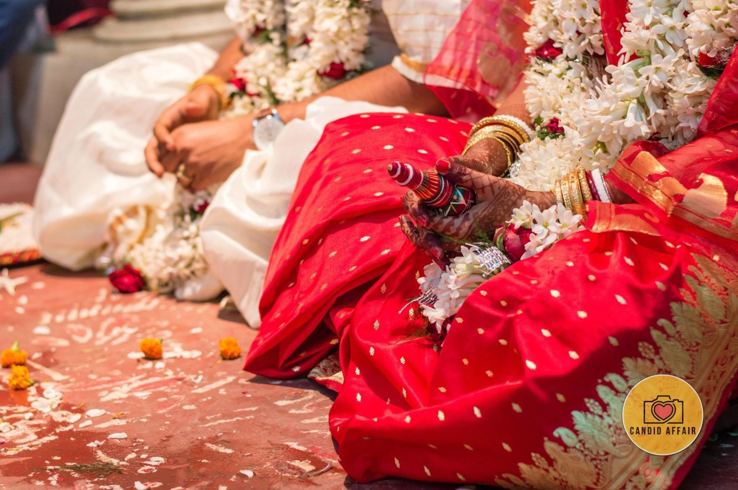 Candid Shot of Bride And Groom by Candid Affair Wedding-photography | Weddings Photos & Ideas