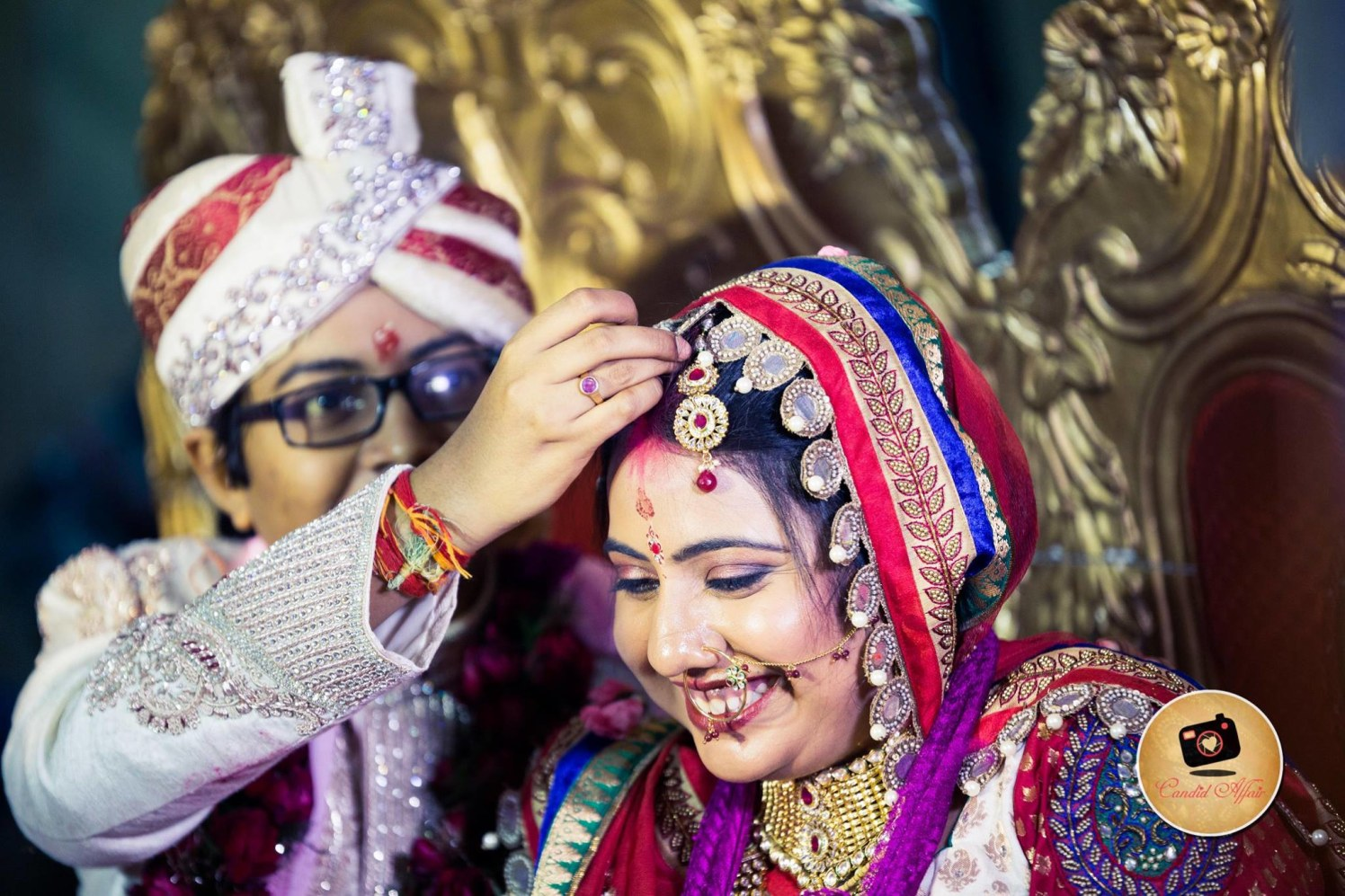 Couple Ready To Enter A New Phase In  Life by Candid Affair Wedding-photography Bridal-jewellery-and-accessories | Weddings Photos & Ideas