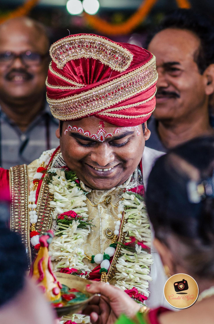 Groom's Candid Shot by Candid Affair Wedding-photography Groom-wear-and-accessories | Weddings Photos & Ideas