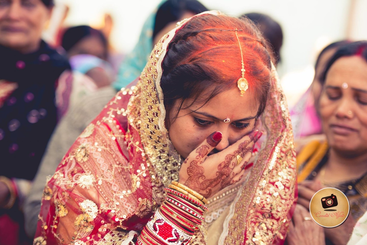 No goodbyes are permanent by Candid Affair Wedding-photography | Weddings Photos & Ideas