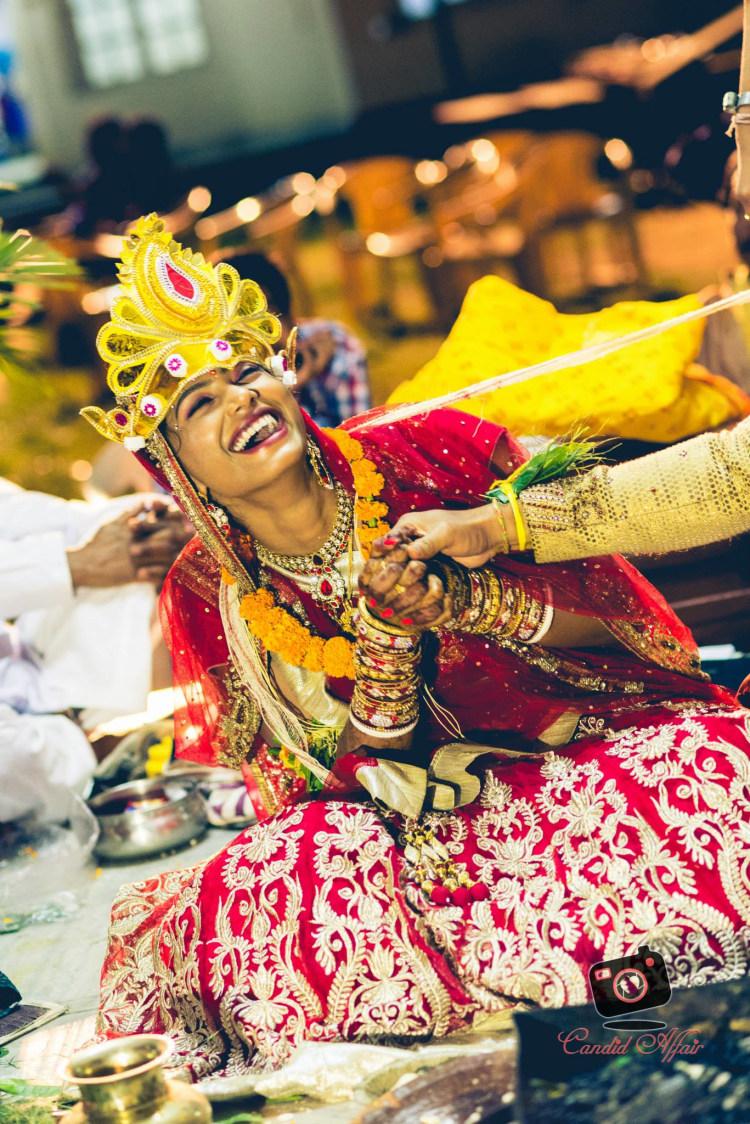 Happy Bride by Candid Affair Wedding-photography | Weddings Photos & Ideas