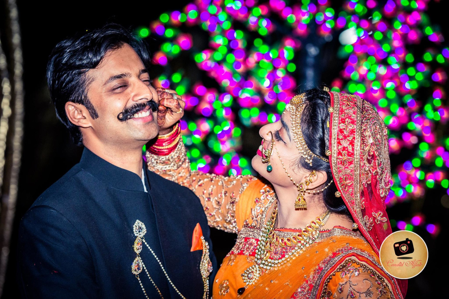 A Beaming Couple On Their Special Day by Candid Affair Wedding-photography | Weddings Photos & Ideas