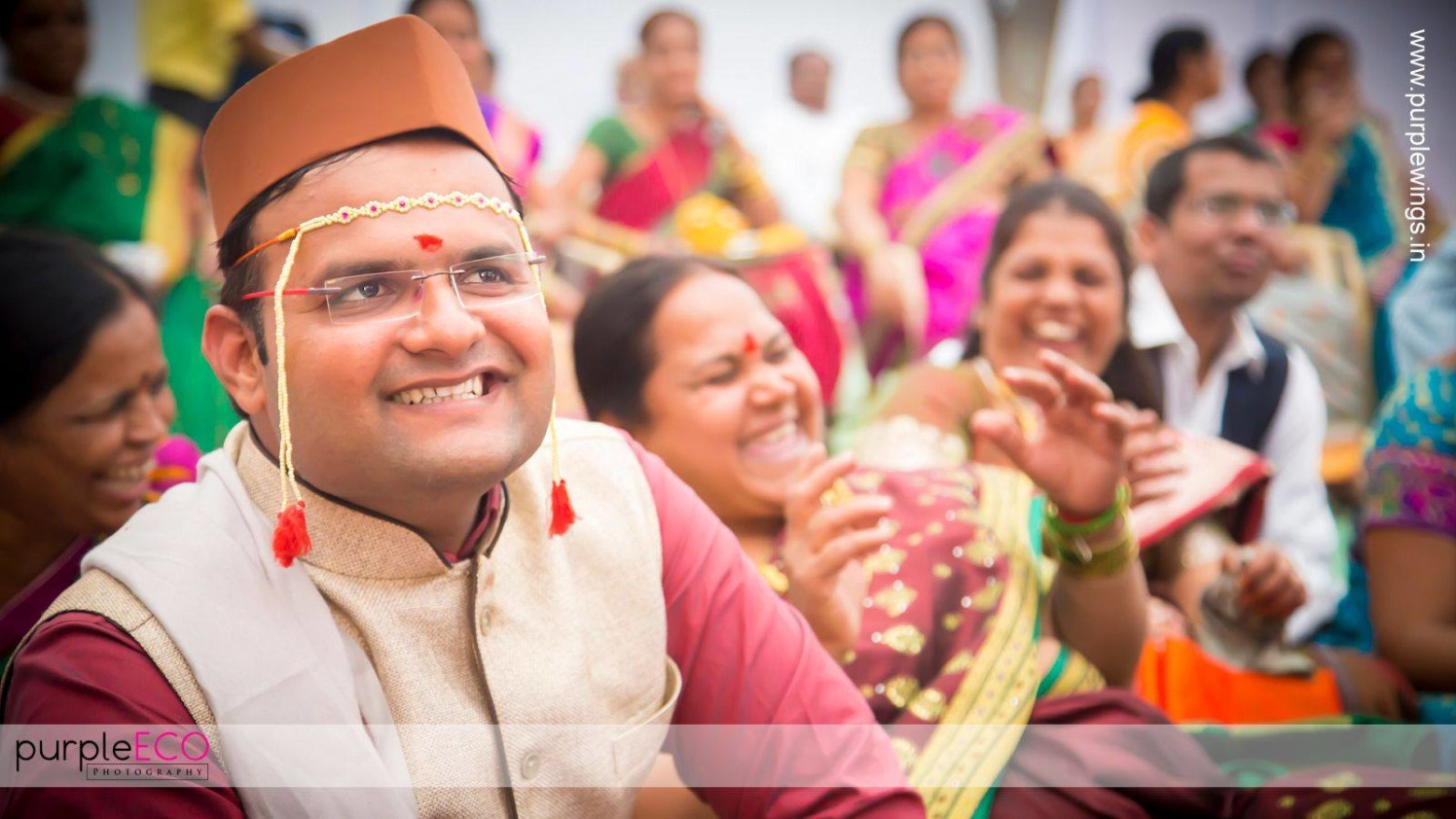 Festive moods by purpleECO photography Wedding-photography   Weddings Photos & Ideas