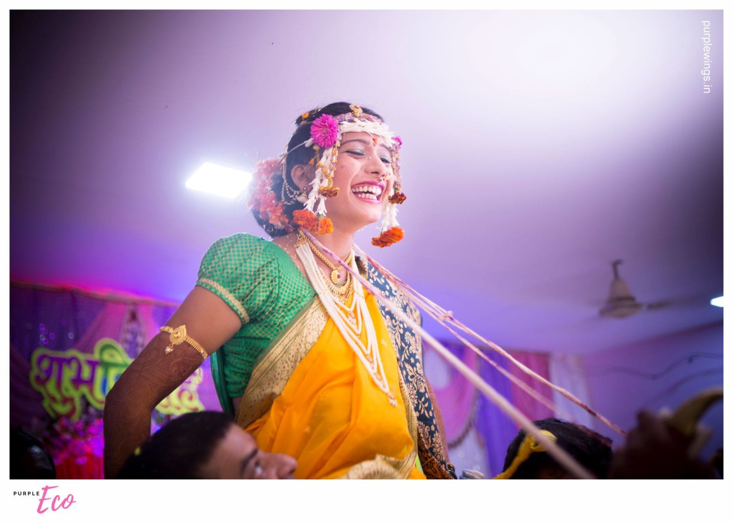 Happiest mrs to be by purpleECO photography Wedding-photography | Weddings Photos & Ideas
