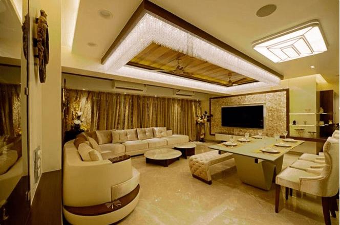 Vintage Themed Sectional Sofa Living Room by Designopedia Living-room Contemporary | Interior Design Photos & Ideas