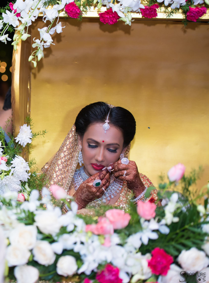 Bride Getting Ready For Her D-Day by Sahil Kumar Wedding-photography Bridal-makeup | Weddings Photos & Ideas