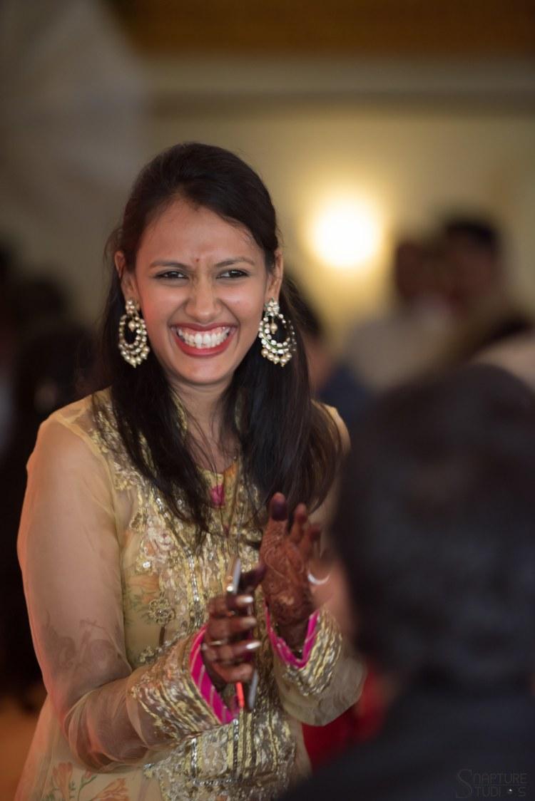 Big Kundan Earrings With An Orange Touch by Sahil Kumar Wedding-photography | Weddings Photos & Ideas