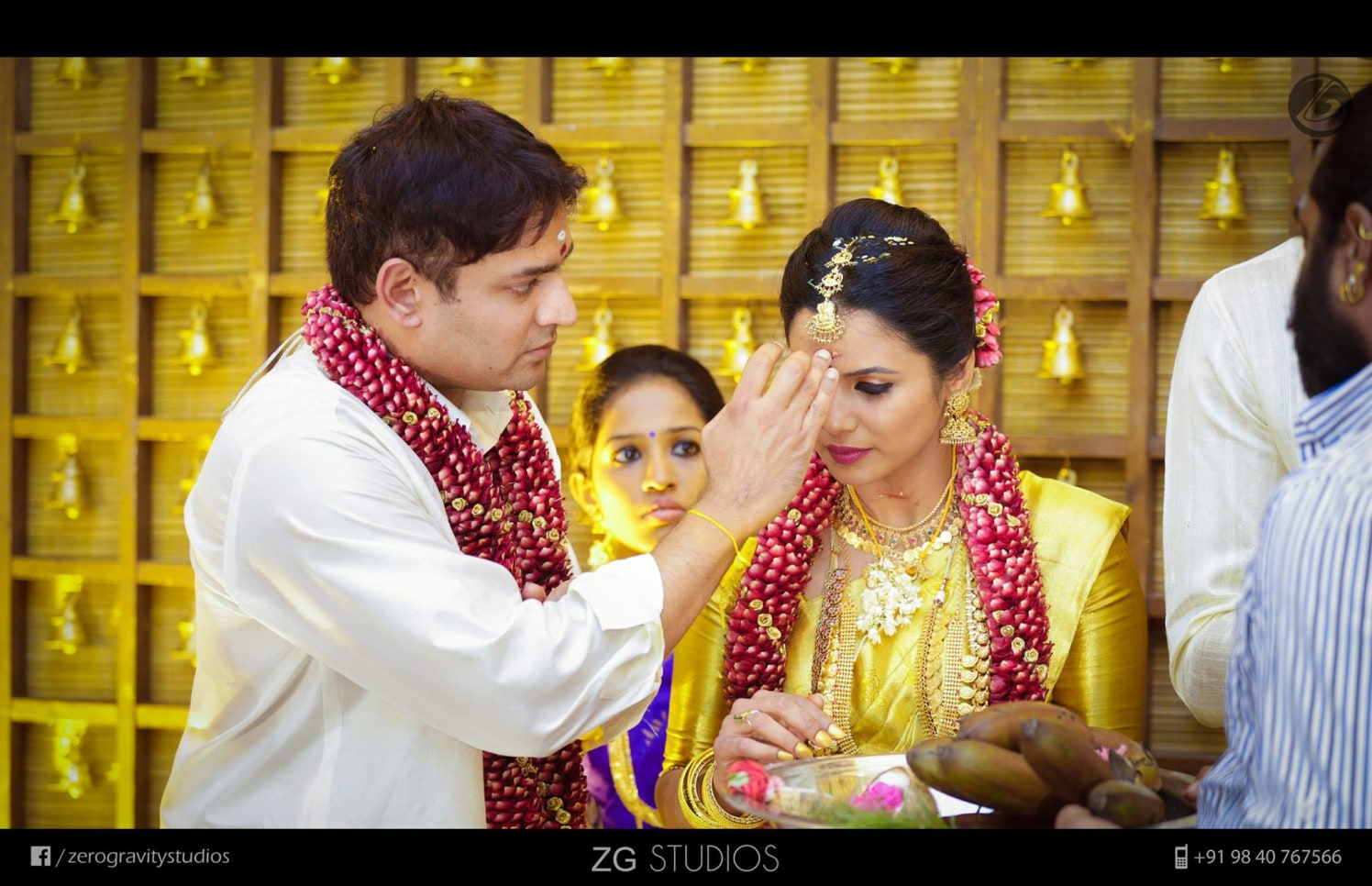 Golden wedding bells by Ajay Wedding-photography | Weddings Photos & Ideas