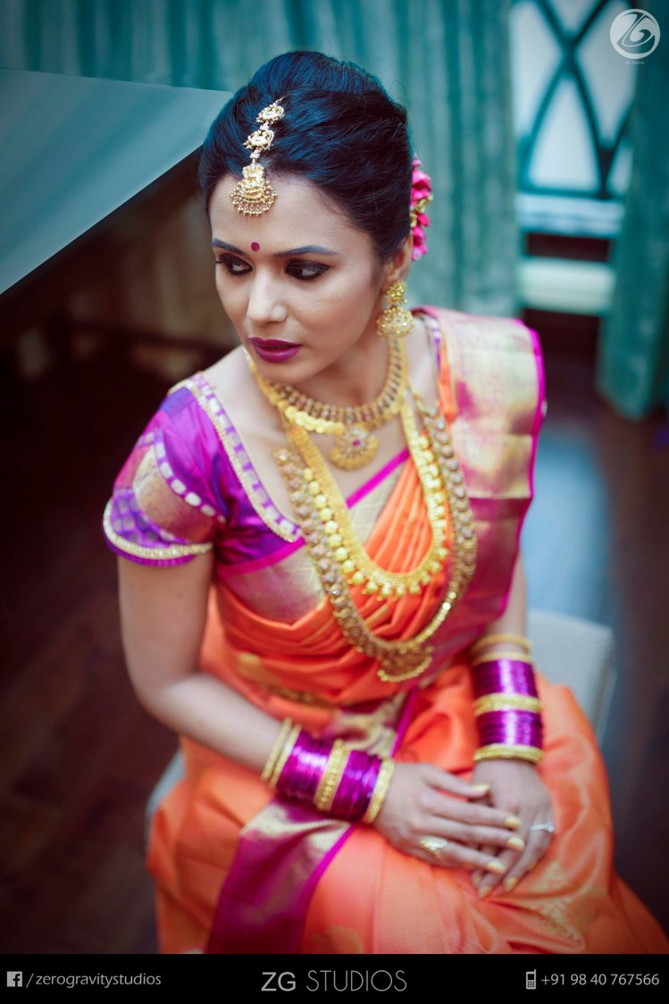 A striking combination of pink and red by Ajay Wedding-photography | Weddings Photos & Ideas