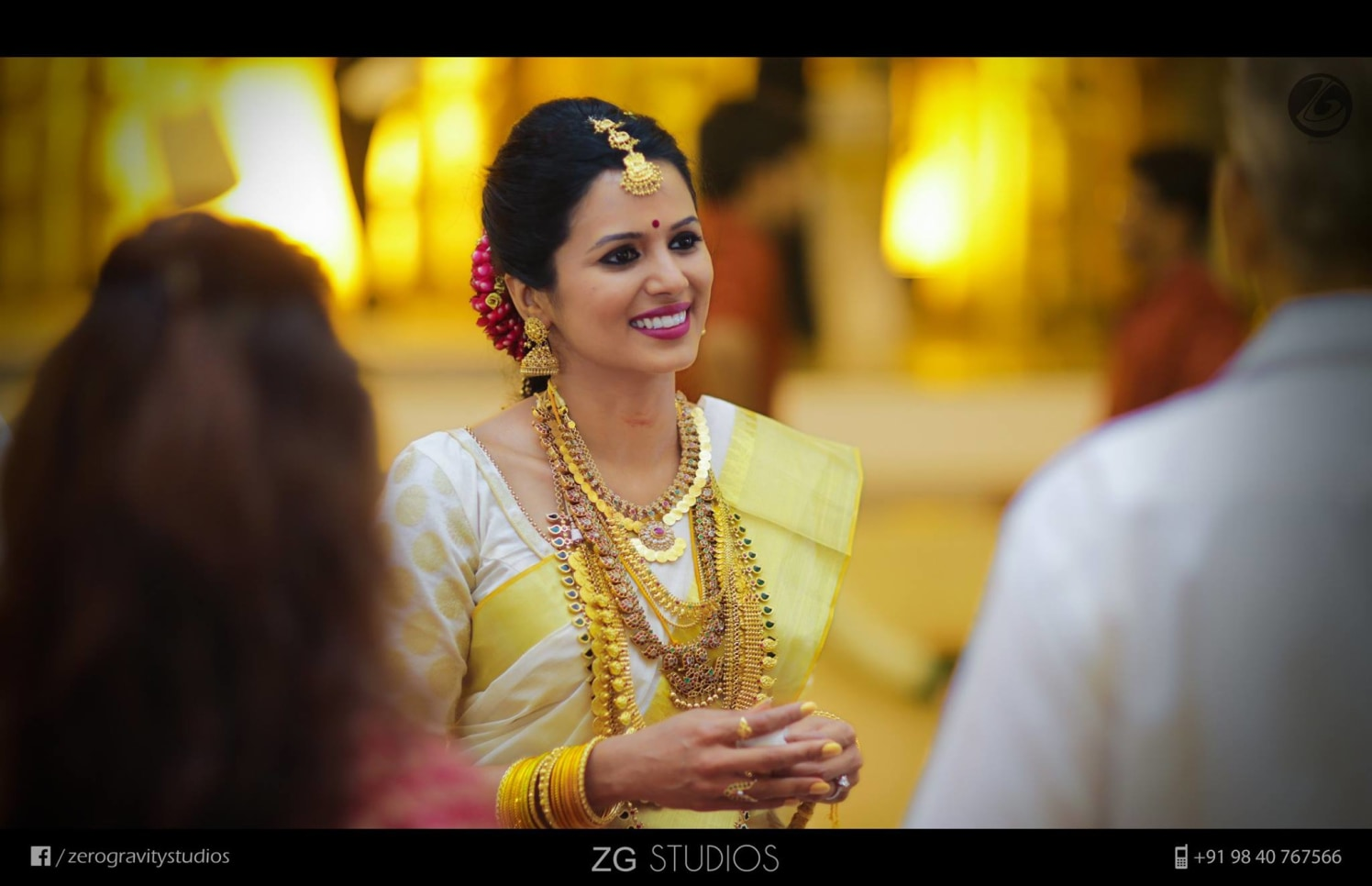 Adorned with auspicious yellow and gold by Ajay Wedding-photography | Weddings Photos & Ideas