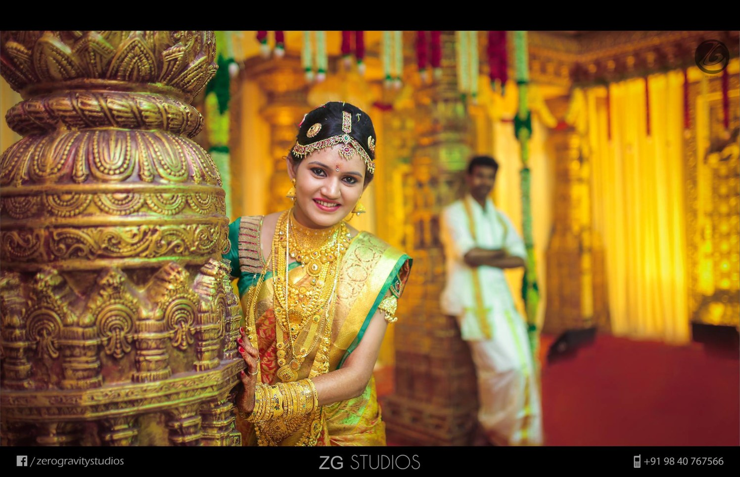 There's no such thing as too much gold! by Ajay Wedding-photography | Weddings Photos & Ideas