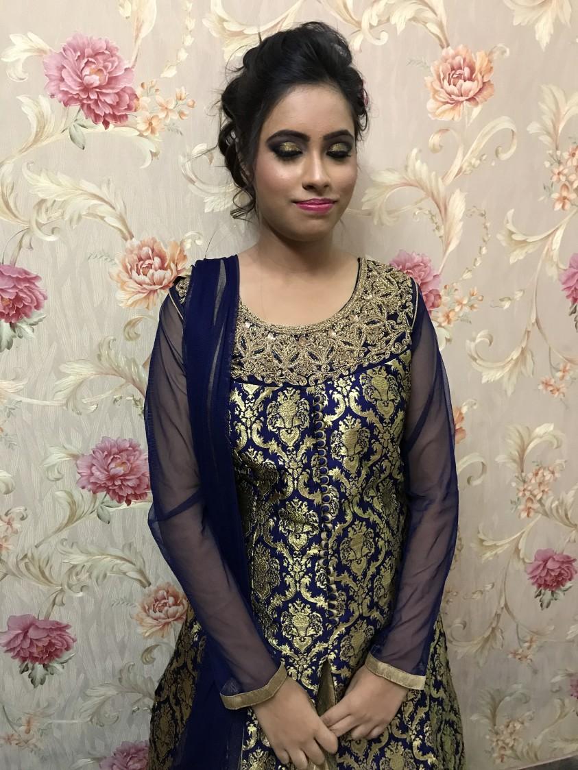 Lovely golden eyes by Preeti Singh Bridal-makeup | Weddings Photos & Ideas