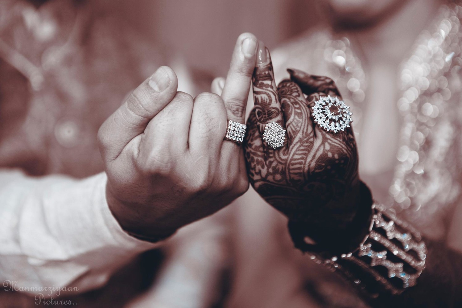 Showing the love band! by Manmarziyaan Pictures Wedding-photography | Weddings Photos & Ideas