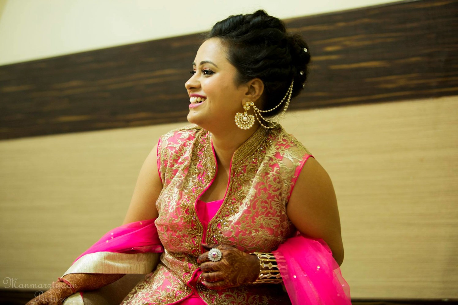 Candid shot of beauty by Manmarziyaan Pictures Wedding-photography | Weddings Photos & Ideas