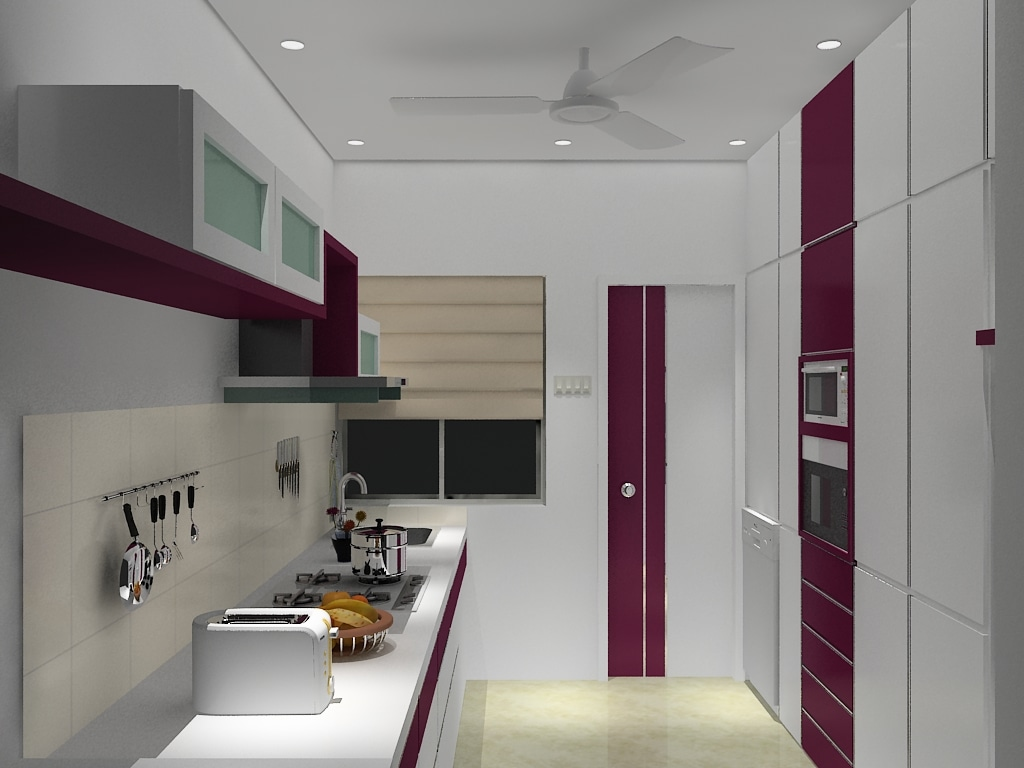Modern Kitchen by Ashwiinii saluunkhe Modern | Interior Design Photos & Ideas