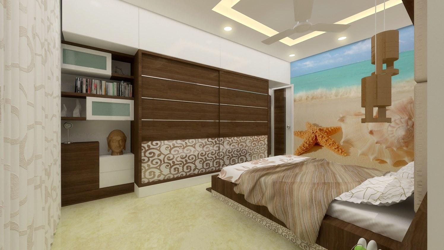 Contemporary wooden closets by Ashwiinii saluunkhe Contemporary | Interior Design Photos & Ideas