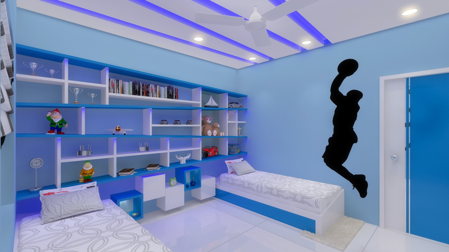 Modern kids bedroom by Ashwiinii saluunkhe Modern | Interior Design Photos & Ideas