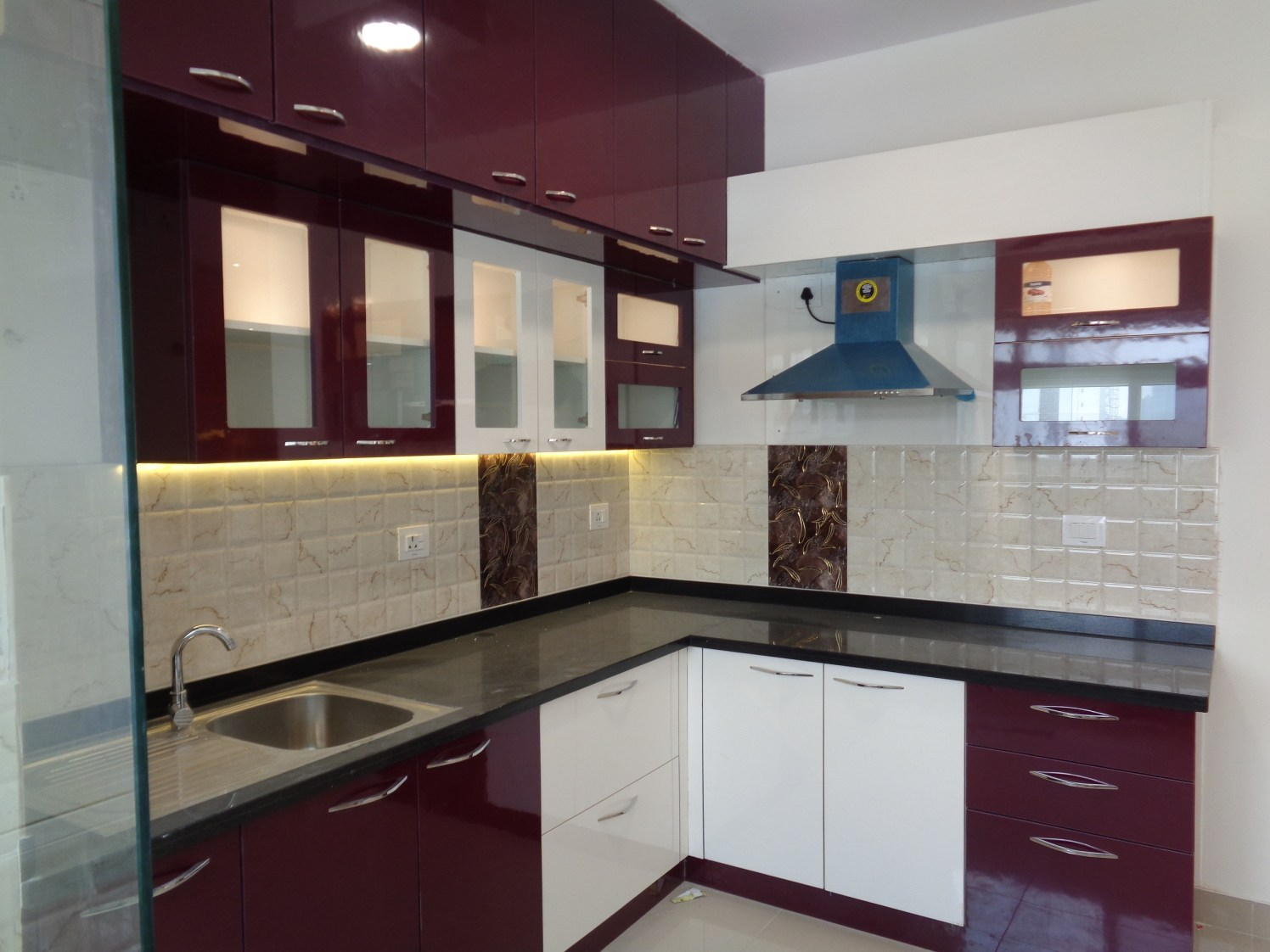 The Cherry Blush by Naushad Modular-kitchen Modern | Interior Design Photos & Ideas