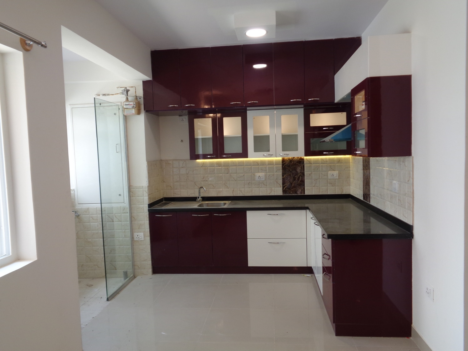 Glossy Cherries by Naushad Modular-kitchen Modern | Interior Design Photos & Ideas