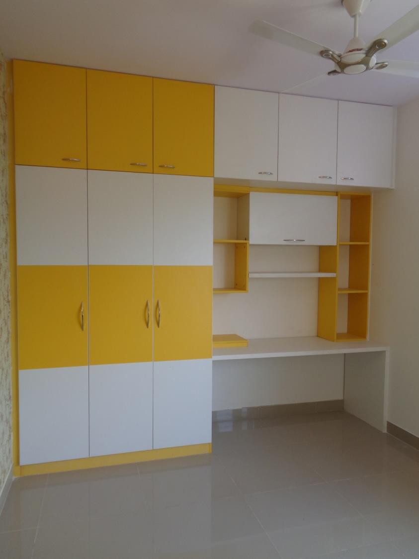 Poppy Yellow by Naushad Bedroom Modern | Interior Design Photos & Ideas
