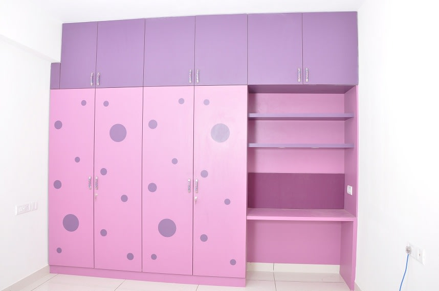 The Polka Pink by Naushad Bedroom Modern | Interior Design Photos & Ideas