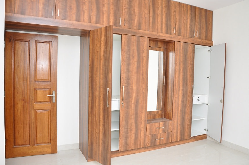 The Woody Texture by Naushad Bedroom Modern | Interior Design Photos & Ideas