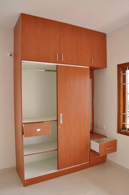 Wooden Wardrobe by Naushad Bedroom Modern | Interior Design Photos & Ideas
