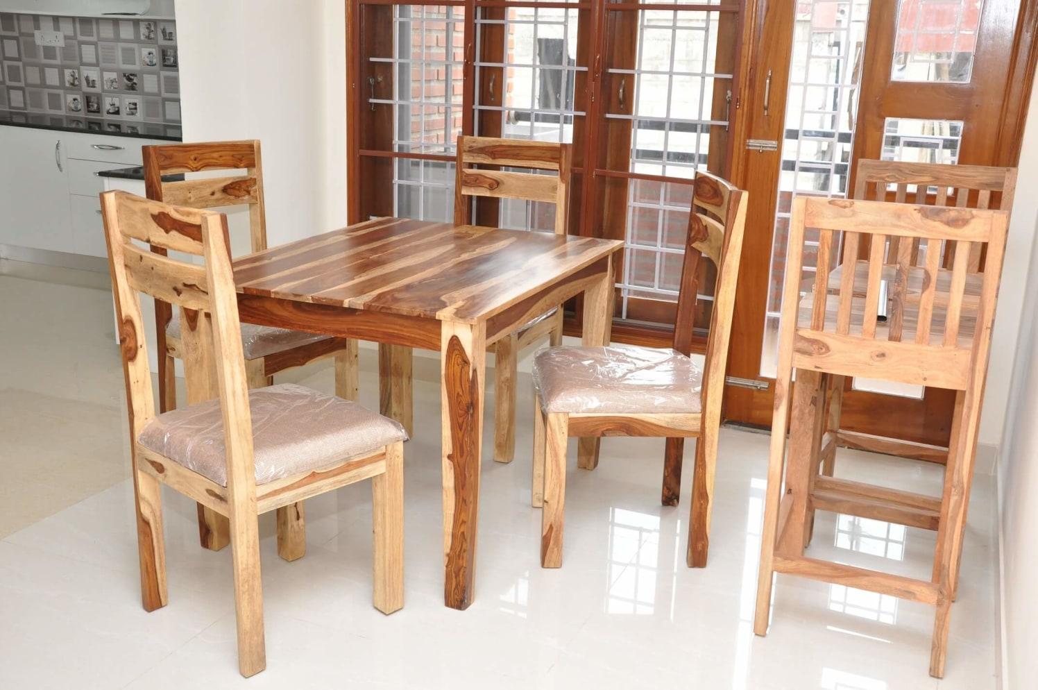 Woodpecker Effect by Naushad Dining-room Modern | Interior Design Photos & Ideas
