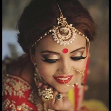 Graceful beauty! by Harleen Kaur Bridal-makeup | Weddings Photos & Ideas