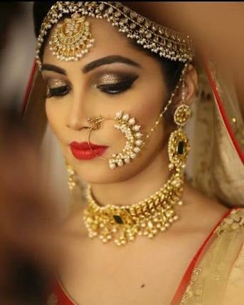 Bold bridal makeup look! by Harleen Kaur Bridal-makeup | Weddings Photos & Ideas