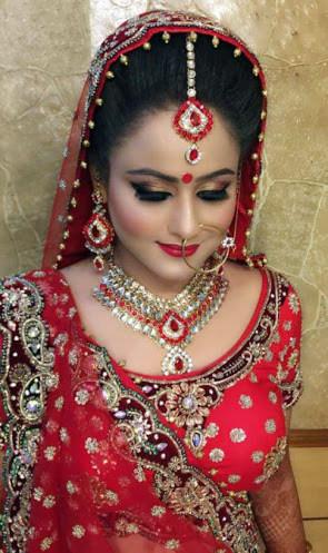 Royal bridal look! by Harleen Kaur Bridal-makeup | Weddings Photos & Ideas