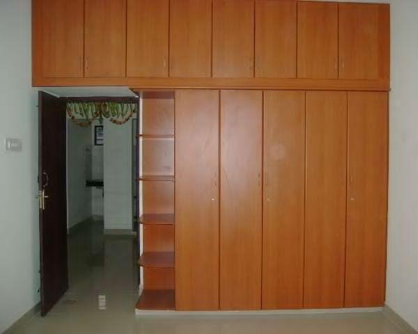 Pecan Shaded Wardrobe by Shyam Kumar M  Bedroom Modern   Interior Design Photos & Ideas
