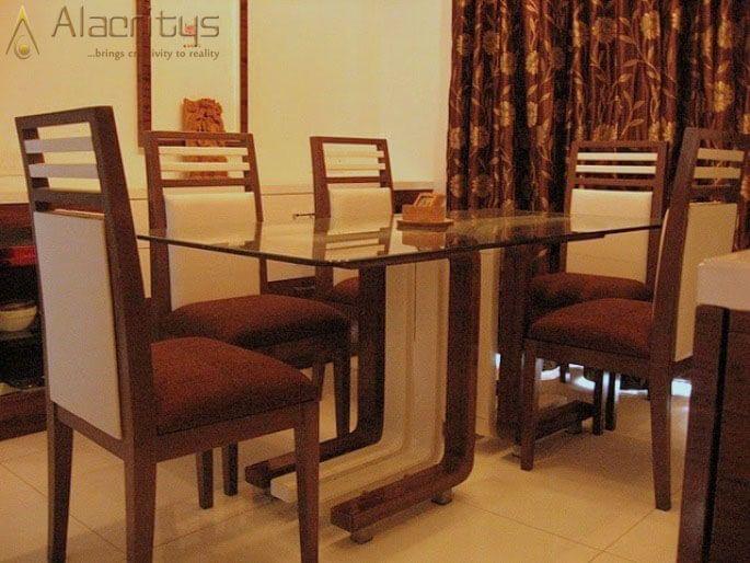 Fine Dine by Trupti Ladda Dining-room Modern | Interior Design Photos & Ideas