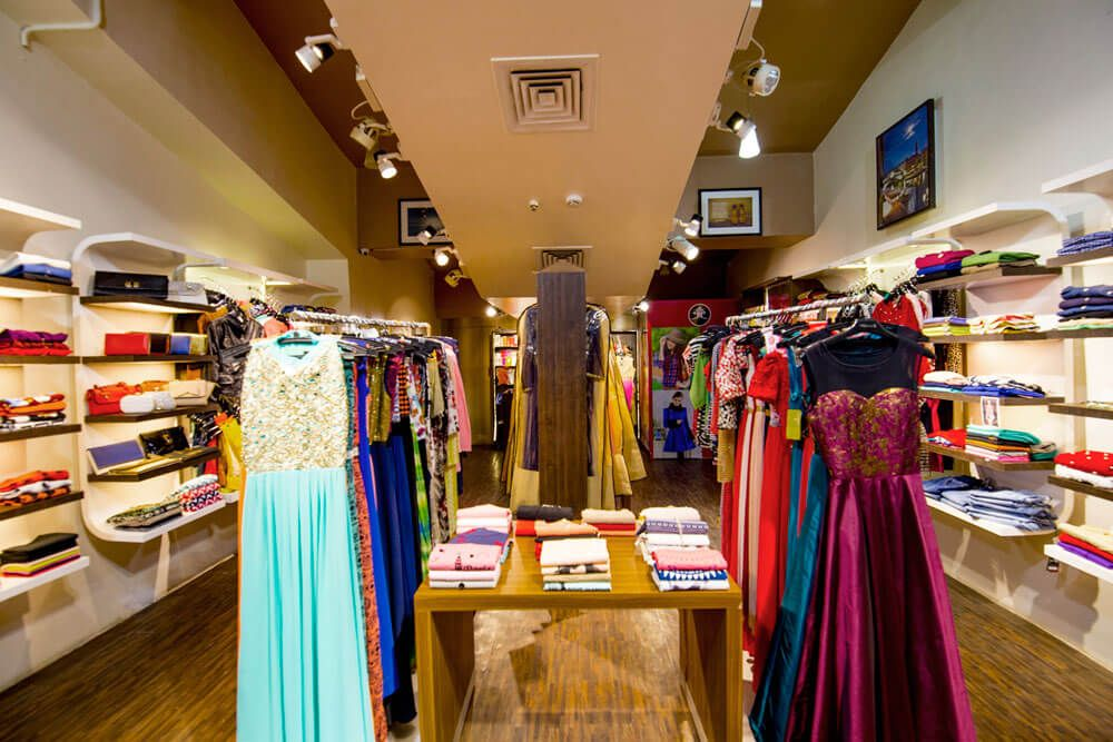 The Clothing Gallery by Trupti Ladda Modern | Interior Design Photos & Ideas