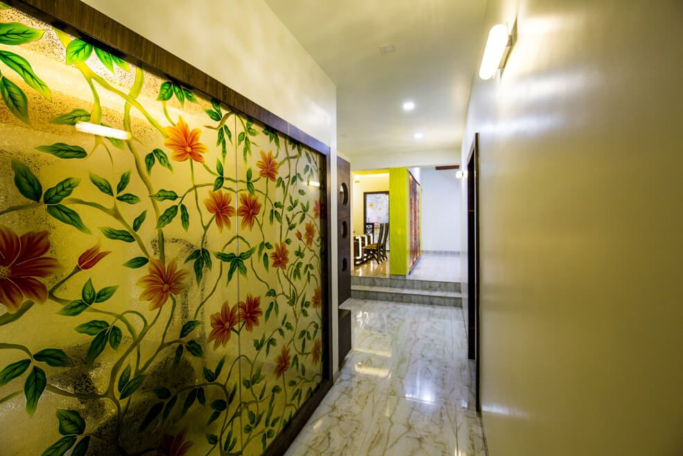 Flower Power by Trupti Ladda Contemporary | Interior Design Photos & Ideas
