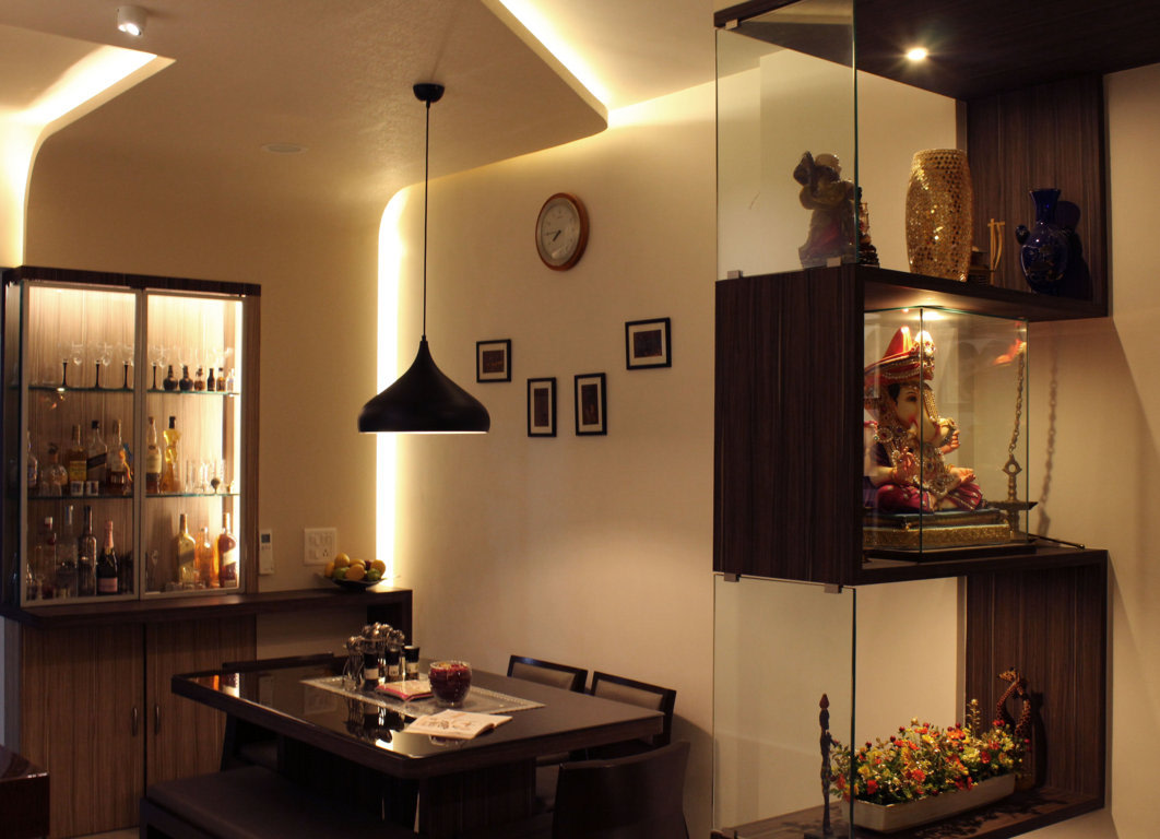 Wine Dine by Pankaj Mhatre Modern | Interior Design Photos & Ideas