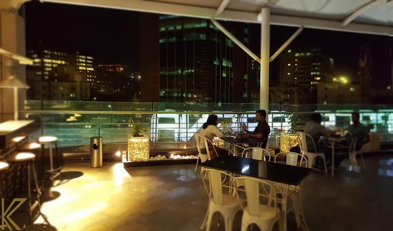 Modern cafe by Aishwarya Somisetty Modern | Interior Design Photos & Ideas