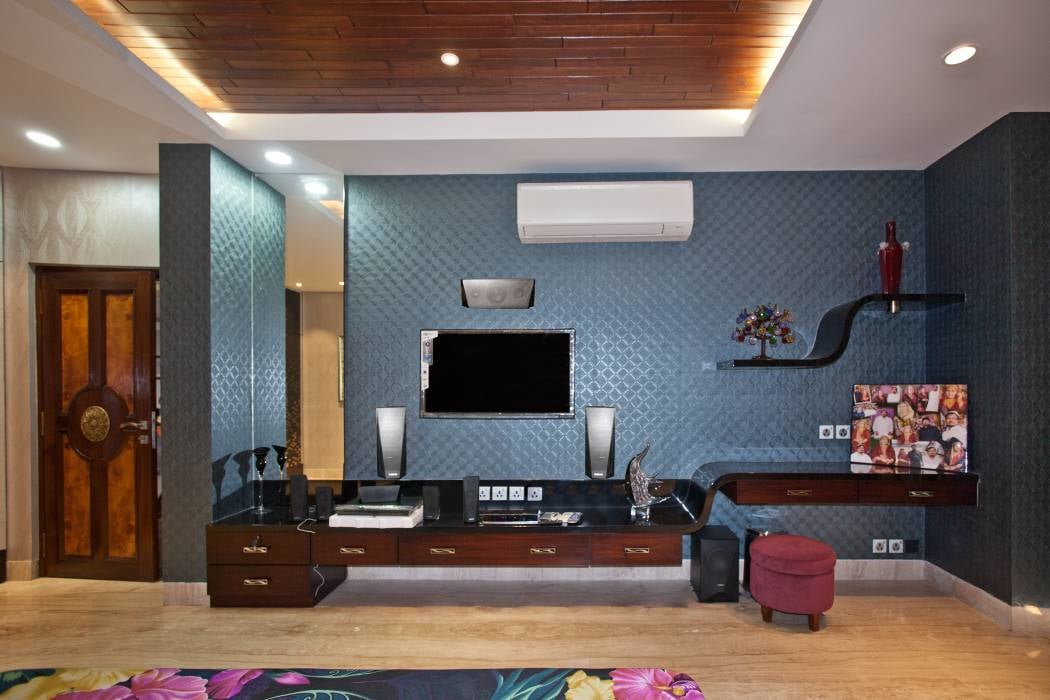3 D Retro Bedroom by Koushik Dey Living-room Contemporary | Interior Design Photos & Ideas