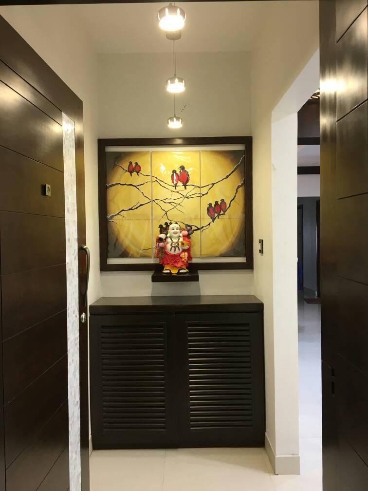 Contemporary Modern Hallway by Rahil Lakhani Modern Contemporary | Interior Design Photos & Ideas
