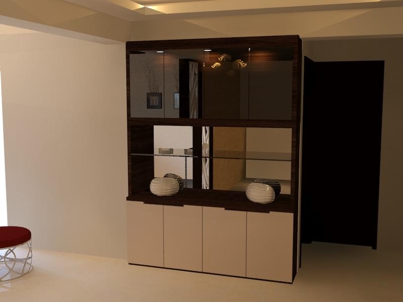 Contemporary Hallway by DezignCraft Interiors Modern Contemporary | Interior Design Photos & Ideas